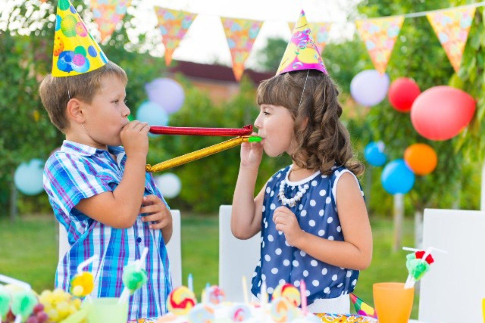 Тематические день рождения для детей